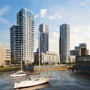 Greenwich Peninsula is set for major regeneration in coming years. Photo courtesy of Kier