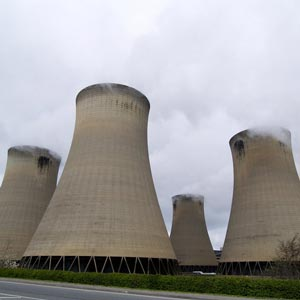 The cooling towers at Drax power station. Photo: Andy Beecroft