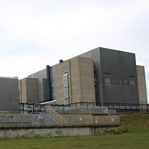 Sizewell A nuclear power station Photo: UCL Mathematical and Physical Sciences.