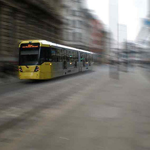 Manchester Metrolink. Photo: James Layhe
