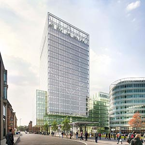 An artist's impression of No 1 Spinningfields. Photo: Allied London