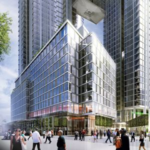 An artist's impression of One Nine Elms. Photo courtesy of Nine Elms London