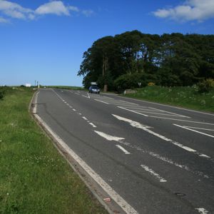 The A96 near Inverness. Photo courtesy of Gajtalbot