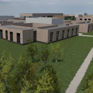 An artist's impression of Royal Edinburgh Hospital campus. Photo: NHS Lothian