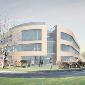 An artist's impression of the new Lyell Centre