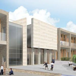 An artist's impression of Highgate Junior School in North London, which is currently being delivered by Wates