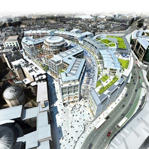 An artist's impression of the St James Quarter development. Photo: City of Edinburgh Council