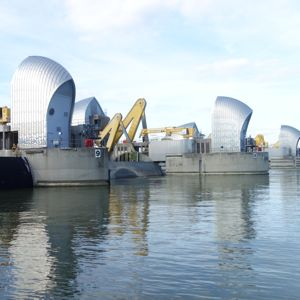 The Thames Barrier