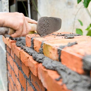 Bricklayers are reported to be in short supply