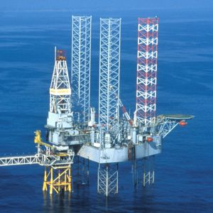 The Transocean Galaxy II jack-up rig