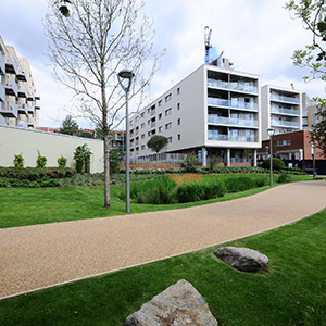 862 new homes have already been built on the estate. Photo courtesy of Hackney Council.