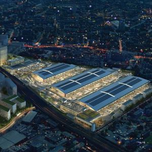 An artist's impression of the New Covent Garden redevelopment