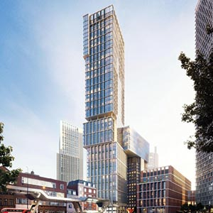 Revised design for £350 million tower goes for approval