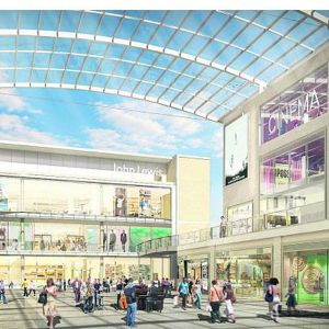 An artist's impression of the completed redevelopment