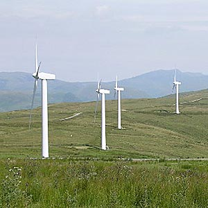 Wind farm blows boost into Wales