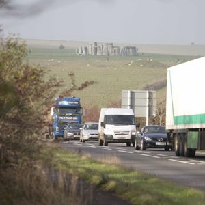 Highways England will build a new road tunnel at Stonehenge on the A303. Photo: Department for Transport