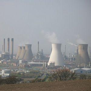 Grangemouth petrochemicals plant. Photo courtesy of Richard Webb