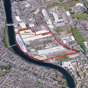 Work will start on site in Spring 2015. Photo: Linc Cymru