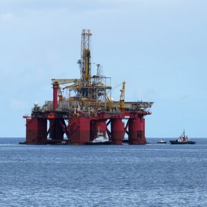 An offshore drilling rig. Photo courtesy of Juan Ramon Rodriguez Sosa